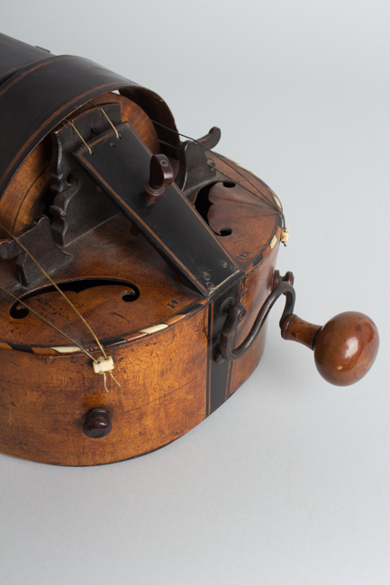 Guitar Shaped 6 String Hurdy-gurdy (maker unknown) ,  c. late 18th Century