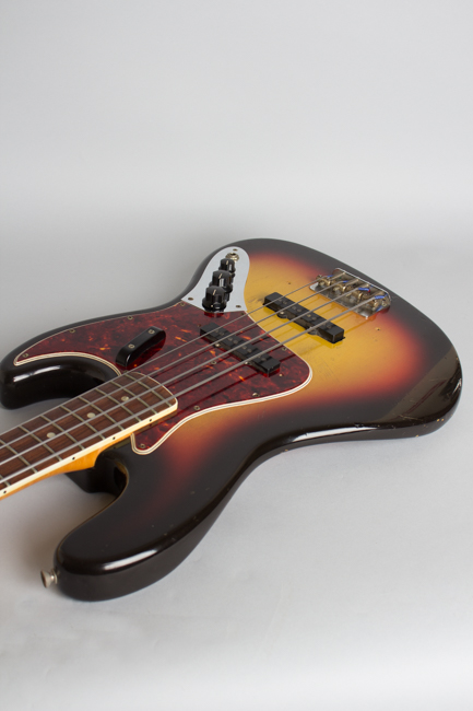 Fender  Jazz Bass Solid Body Electric Bass Guitar  (1966)