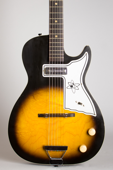 Harmony  Stratotone Mars H-45 Thinline Hollow Body Electric Guitar  (1965)