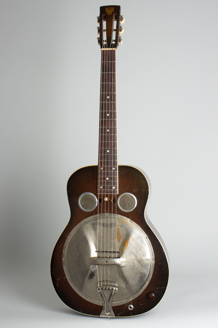 Dobro  All-Electric Hollow Body Electric Guitar  (1934)
