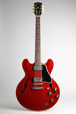 retrofret gibson es 335tdc semi hollow body electric guitar 1961 brooklyn ny. Black Bedroom Furniture Sets. Home Design Ideas