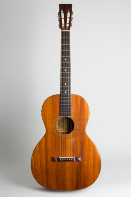Stella  Koa Grand Concert Flat Top Acoustic Guitar  (1920s)