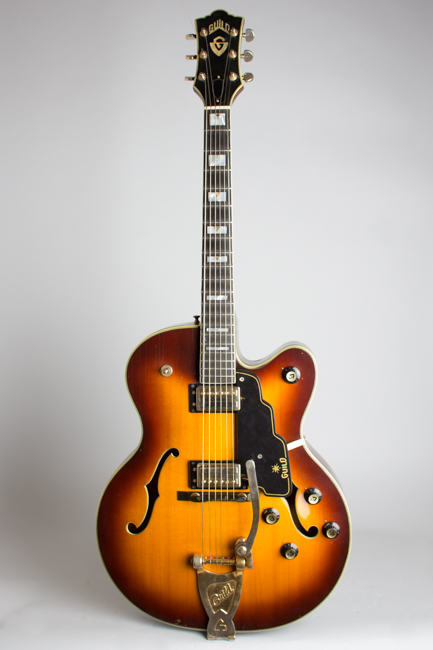 Guild  X-500 Special Arch Top Hollow Body Electric Guitar  (1965)
