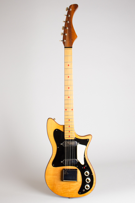 Hohner Zambesi 333 Solid Body Electric Guitar, made by Fenton-Weill  (1962)
