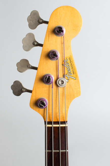 Fender  Precision Bass Solid Body Electric Bass Guitar  (1966)