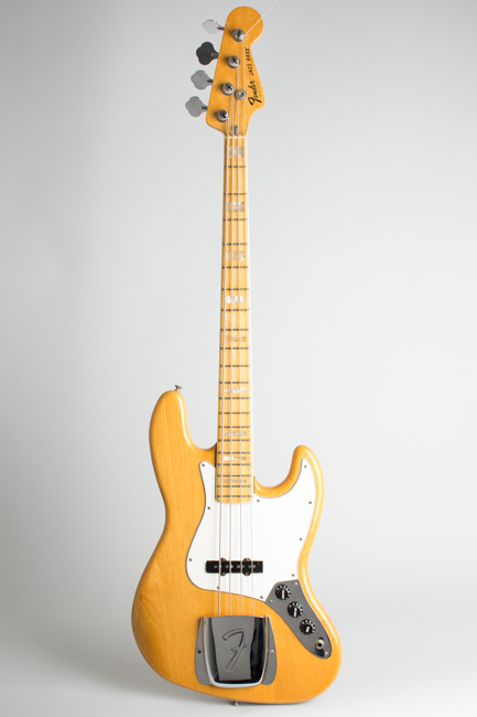 Fender  Jazz Bass Solid Body Electric Bass Guitar  (1978)
