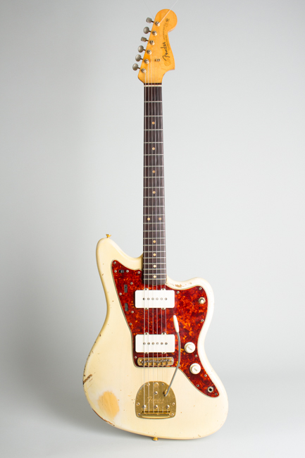 Fender  Jazzmaster with gold hardware Solid Body Electric Guitar  (1962)