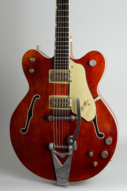 Gretsch  Model 6120 Chet Atkins Nashville Thinline Hollow Body Electric Guitar  (1965)