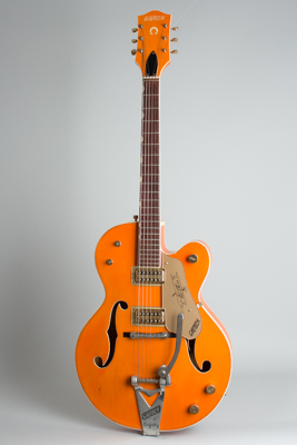 Gretsch  Model 6120 Conversion Arch Top Hollow Body Electric Guitar  (1960