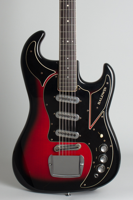 Baldwin - Burns  Double Six 12 String Solid Body Electric Guitar  (1966)