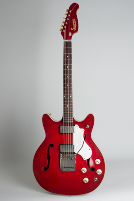 Supro  Clermont S667 Thinline Hollow Body Electric Guitar  (1968)