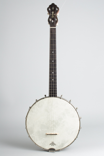 Supertone Tenor Banjo, most likely made by Slingerland ,  c. 1925