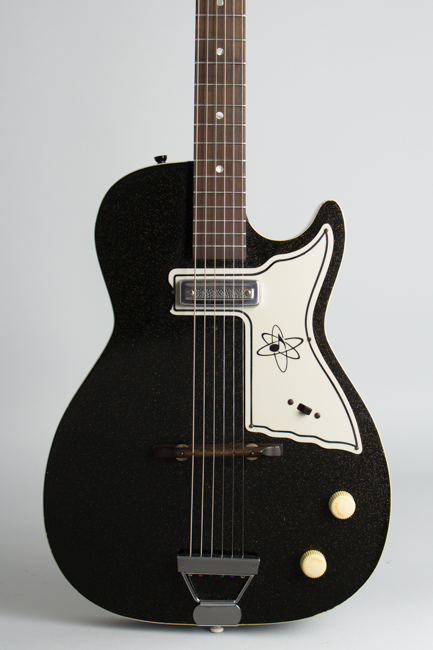 Alden H-45 Stratotone Mars Semi-Hollow Body Electric Guitar, made by Harmony ,  c. 1962