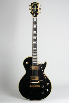 Gibson  Les Paul Custom Solid Body Electric Guitar  (1970)