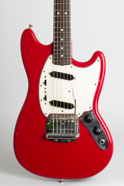 Fender  Mustang Solid Body Electric Guitar  (1968)