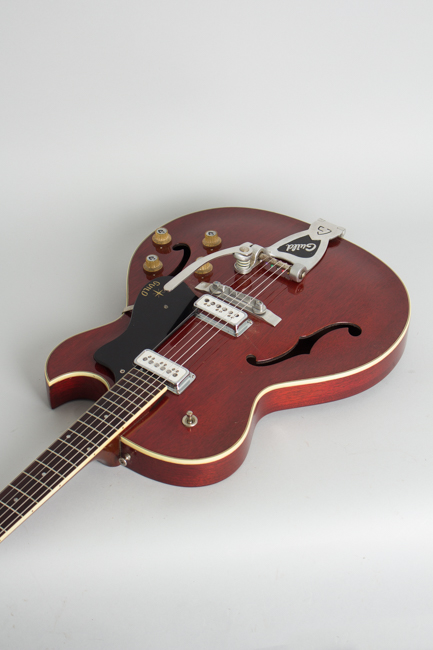 Guild  Starfire III Thinline Hollow Body Electric Guitar  (1961)