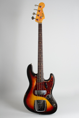 Fender  Jazz Bass Solid Body Electric Bass Guitar  (1964)