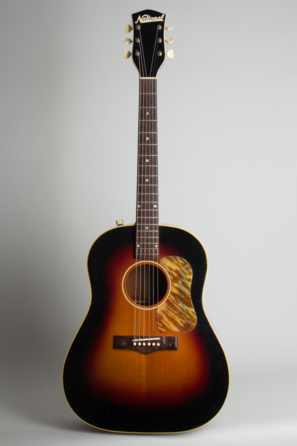 National  Model 1155E Acoustic-Electric Guitar  (1956)