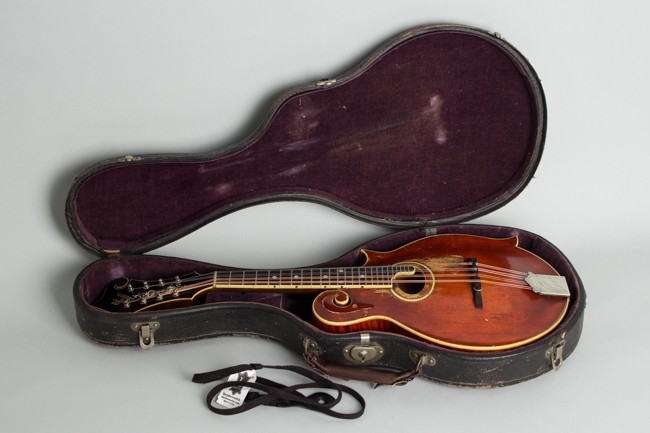Gibson  F-4 Carved Top Mandolin  (1913)