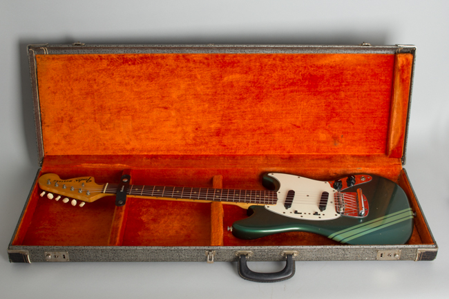 Fender  Competition Mustang Solid Body Electric Guitar  (1974)