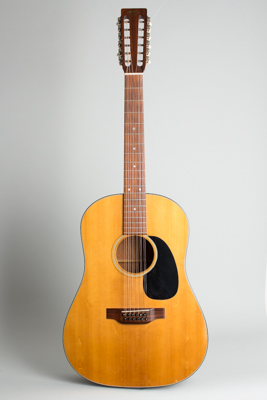 C. F. Martin  D-12-20 12 String Flat Top Acoustic Guitar  (1971)