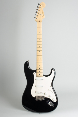 Fender  Stratocaster Eric Clapton Signature Blackie Solid Body Electric Guitar  (2006)