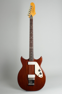 Micro-Frets  Baritone/6 String Bass, Formerly owned by Walter Becker of Steely Dan Semi-Hollow Body Electric Guitar ,  c. 1972