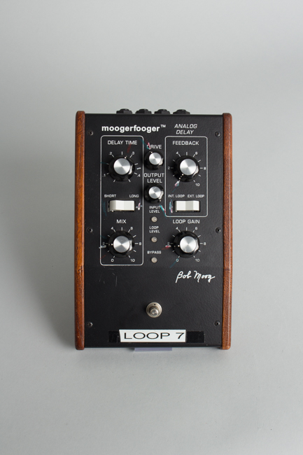 Moog Moogerfooger  MF-104,  Previously Owned by Steely Dan