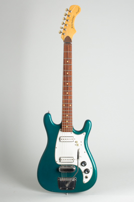 Magnatone  Zephyr X-5 Solid Body Electric Guitar  (1965)