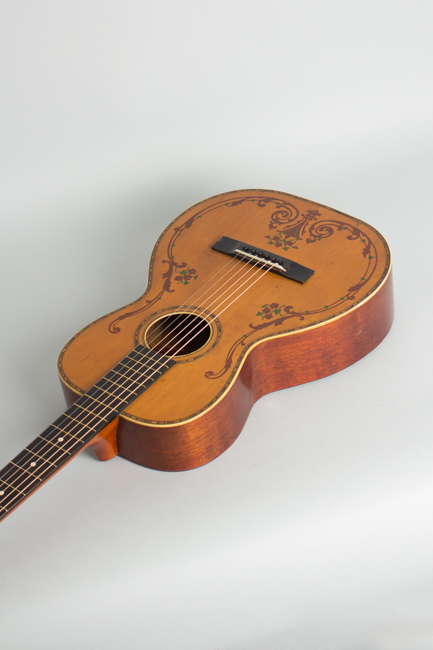 Concert Size Flat Top Acoustic Guitar, most likely made by Regal ,  c. 1928