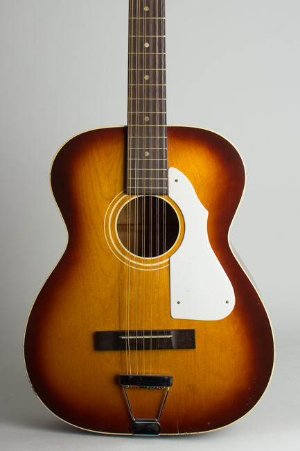Stella H-922 12 String Flat Top Acoustic Guitar, made by Harmony  (1967)
