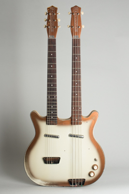 Danelectro  Doubleneck Model 3923 Semi-Hollow Body Electric Guitar  (1964)