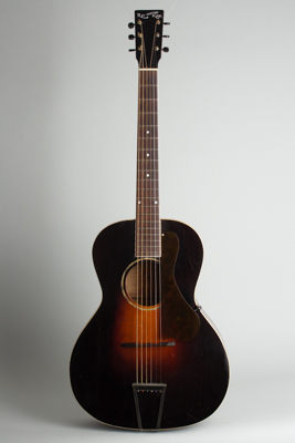 Recording King Model 681 Flat Top Acoustic Guitar, made by Gibson  (1934)
