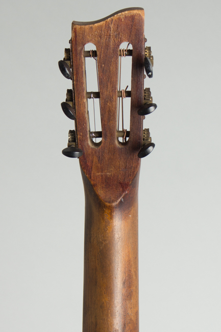 Richter  Flat Top Acoustic Guitar with Period Western Decoration (1930