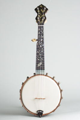 Washburn  Elite Piccolo Banjo,  c. 1900