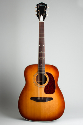 Silvertone Model 1220L Jumbo Flat Top Acoustic Guitar, made by Harmony  (1969)