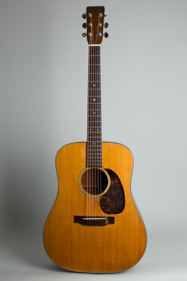 C. F. Martin  D-18 Flat Top Acoustic Guitar  (1966)