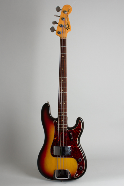 Fender  Precision Bass Solid Body Electric Bass Guitar  (1972)