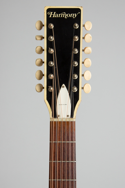 Harmony  H-1233 12 String Flat Top Acoustic Guitar  (1972)